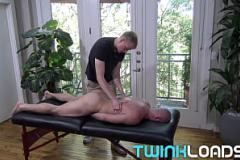 Sex..com TWINKLOAD - Hung blond twink creams muscle daddy&rs